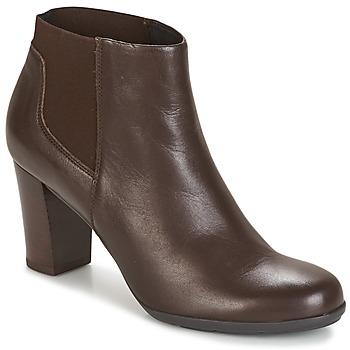 kengät Naiset Nilkkurit Geox D ANNYA Brown