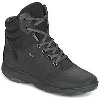 kengät Naiset Korkeavartiset tennarit Geox D NEBULA 4 X 4 B ABX Black