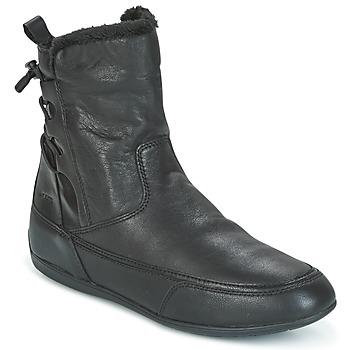 kengät Naiset Bootsit Geox D NEW MOENA Black