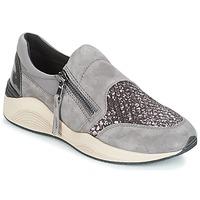 kengät Naiset Matalavartiset tennarit Geox D OMAYA Grey