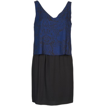 vaatteet Naiset Lyhyt mekko Naf Naf LORRICE Black / Blue
