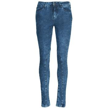 vaatteet Naiset Slim-farkut Naf Naf GOJO Blue
