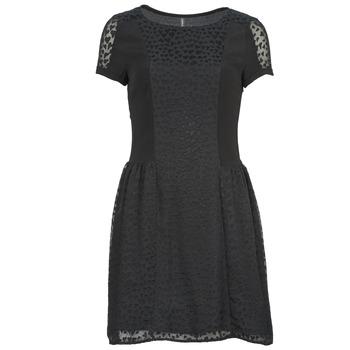 vaatteet Naiset Lyhyt mekko Naf Naf KEUR Black