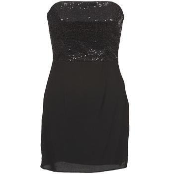 vaatteet Naiset Lyhyt mekko Naf Naf LYCHA Black