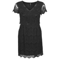 vaatteet Naiset Lyhyt mekko Naf Naf LYJO Black