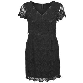 vaatteet Naiset Lyhyt mekko Naf Naf LYJO Musta