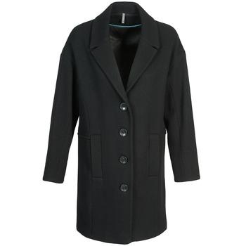 vaatteet Naiset Paksu takki Naf Naf ALEX Black
