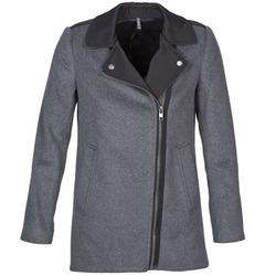 vaatteet Naiset Paksu takki Naf Naf ARNO Grey / Black