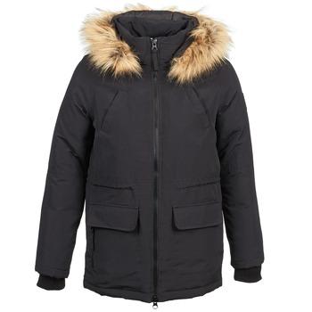 vaatteet Naiset Parkatakki Naf Naf BHLIPE Black