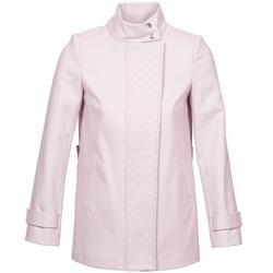 vaatteet Naiset Paksu takki Naf Naf ACORA Pink