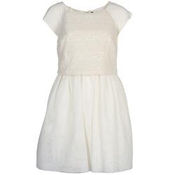 vaatteet Naiset Lyhyt mekko Naf Naf LYMELL White