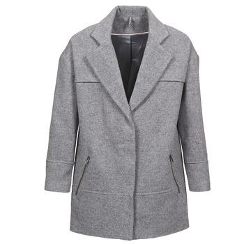 vaatteet Naiset Paksu takki Naf Naf ADELI Grey