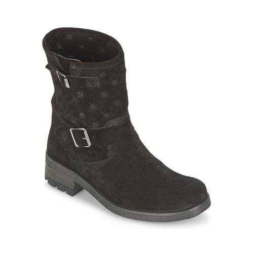 kengät Naiset Bootsit Naf Naf XHNX70A18 Black