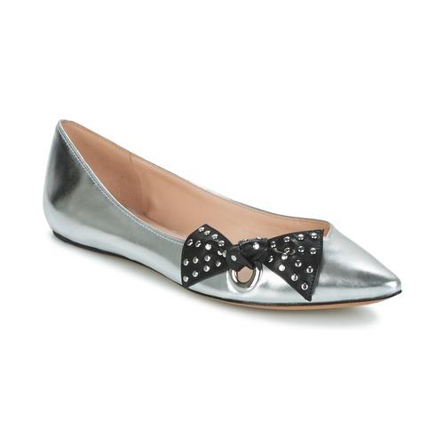 kengät Naiset Balleriinat Marc Jacobs RITA POINTY TOE Hopea