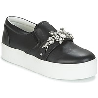 kengät Naiset Tennarit Marc Jacobs WRIGHT EMBELLISHED SNEAKER Black