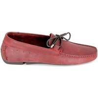 kengät Miehet Mokkasiinit TBS Bagnoli Bordeaux Punainen