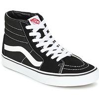 kengät Korkeavartiset tennarit Vans SK8 HI Black / White