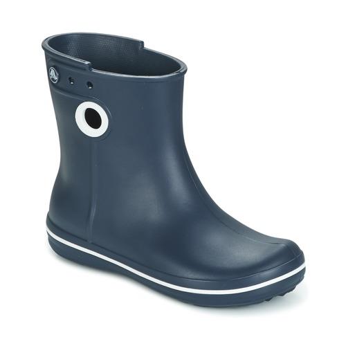 kengät Naiset Kumisaappaat Crocs JAUNT SHORTY BOOTS Laivastonsininen