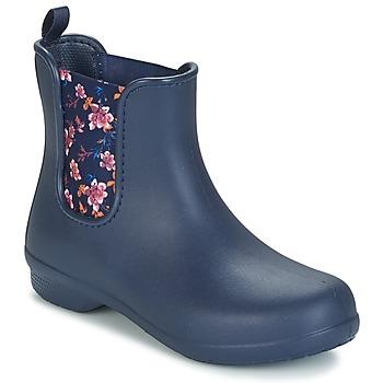 kengät Naiset Bootsit Crocs CROCS FREESAIL CHELSEA Laivastonsininen
