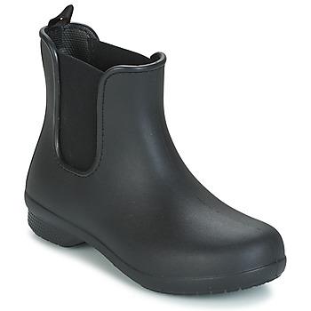 kengät Naiset Bootsit Crocs CROCS FREESAIL CHELSEA Black