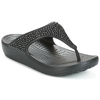 kengät Naiset Varvassandaalit Crocs SLOANE Black