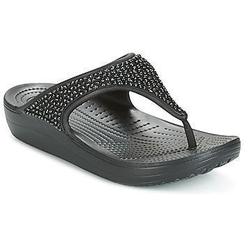 kengät Naiset Sandaalit ja avokkaat Crocs SLOANE Black