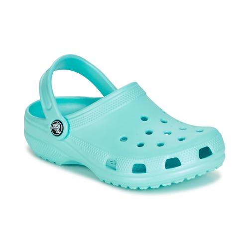 kengät Lapset Puukengät Crocs CLASSIC CLOG KIDS Blue