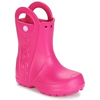 kengät Tytöt Kumisaappaat Crocs HANDLE IT RAIN BOOT Pink