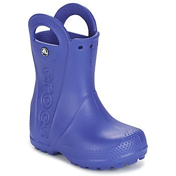 kengät Pojat Kumisaappaat Crocs HANDLE IT RAIN BOOT Blue
