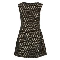vaatteet Naiset Lyhyt mekko Molly Bracken DIRCO Black / Gold