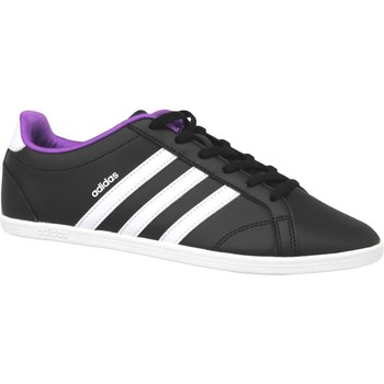 kengät Naiset Tennarit adidas Originals Vs Coneo Qt W B74551 Black,White