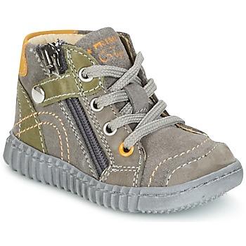 kengät Pojat Bootsit Primigi PSM 8028 Grey