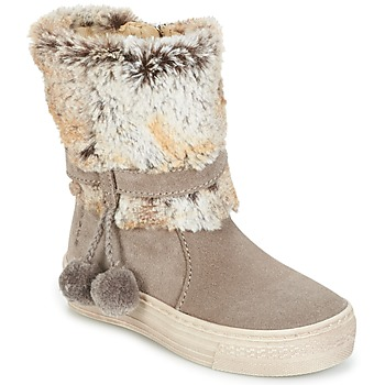 kengät Tytöt Bootsit Primigi PSA 8164 Grey / Pink