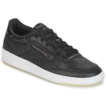 kengät Naiset Matalavartiset tennarit Reebok Classic CLUB C 85 LTHR Black