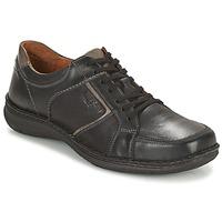 kengät Miehet Derby-kengät Josef Seibel ANVERS 49 Black