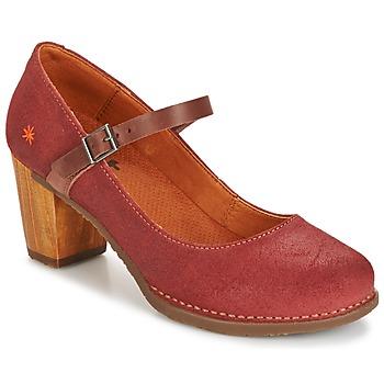 kengät Naiset Korkokengät Art SALZBURG Red