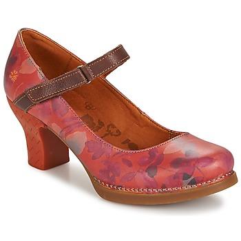 kengät Naiset Korkokengät Art HARLEM Red