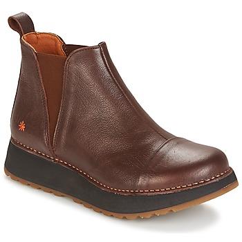 kengät Naiset Bootsit Art HEATHROW Brown