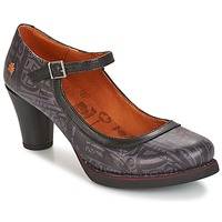 kengät Naiset Korkokengät Art ST-TROPEZ Black