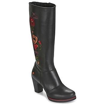 kengät Naiset Saappaat Art GRAN-VIA Black