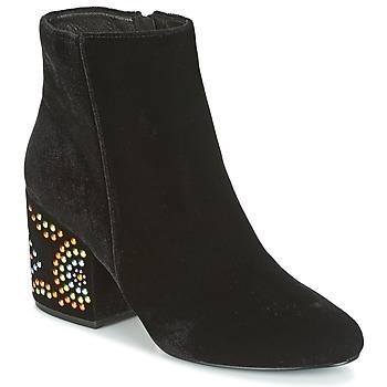 kengät Naiset Nilkkurit Café Noir GIROU Black