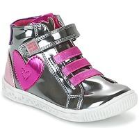 kengät Tytöt Korkeavartiset tennarit Agatha Ruiz de la Prada FLOW Argenté