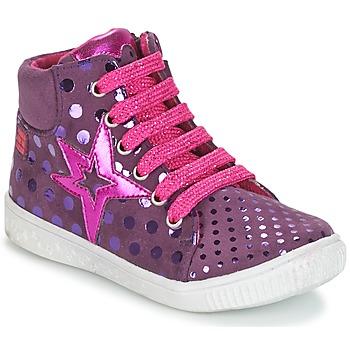 kengät Tytöt Korkeavartiset tennarit Agatha Ruiz de la Prada FLOW Violet