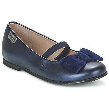 kengät Tytöt Balleriinat Garvalin GARDEN Blue