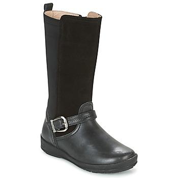 kengät Tytöt Saappaat Garvalin NEW FLORES Black