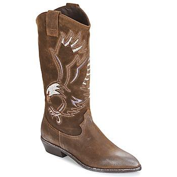 kengät Naiset Saappaat Now SATURNA Brown