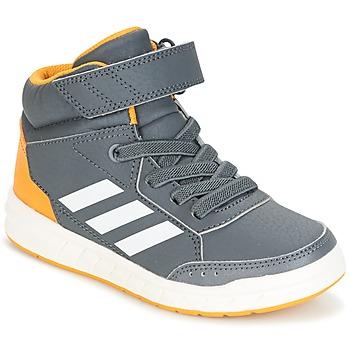 kengät Pojat Korkeavartiset tennarit adidas Performance ALTASPORT MID EL K Grey