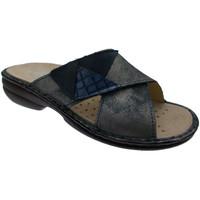 kengät Naiset Sandaalit Calzaturificio Loren LOM2657bl blu