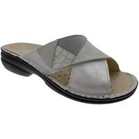 kengät Naiset Sandaalit Calzaturificio Loren LOM2657bi bianco