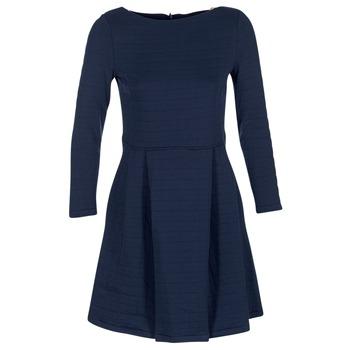 vaatteet Naiset Lyhyt mekko Petit Bateau LAUREANNA Laivastonsininen